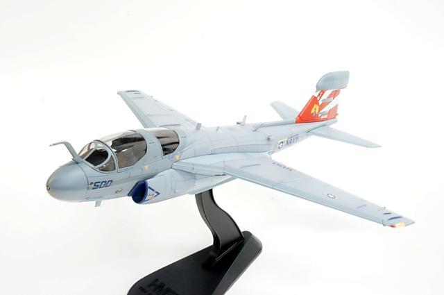 日本最大の ホビーマスター HOBBY MASTER (HA5001) 1/72 グラマン EA-6B プラウラー アメリカ海軍 第136電子戦飛行隊 ガントレッツ #164402, ヘルシーアーモンド 8e04526b