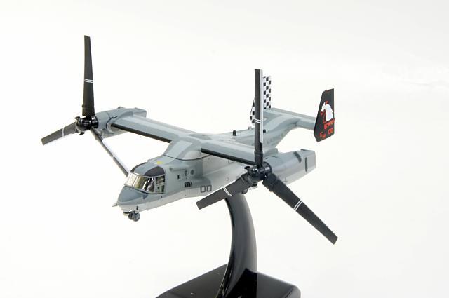エムシリーズ・バイ・ホーガンウイングス M-SERIES by hogan wings(60111) 1/200 ベル/ボーイング MV-22B アメリカ海兵隊 VMM-264 ブラックナイツ 16630 スタンド付