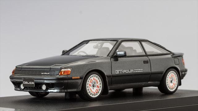 ミニカー 1/43 マーク43 MARK43(PM4337SGM) トヨタ セリカ GT-FOUR (ST165) 1987 スポーツホイール グレーM