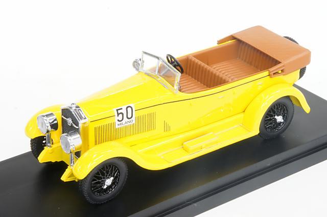 ミニカー 1/43 リオ RIO (RIO4482) イソッタ・フラスキーニ 8A 1933年 ミラノ-サンレモ 優勝車 No.50 Rosalinda Bianchi Anderloni