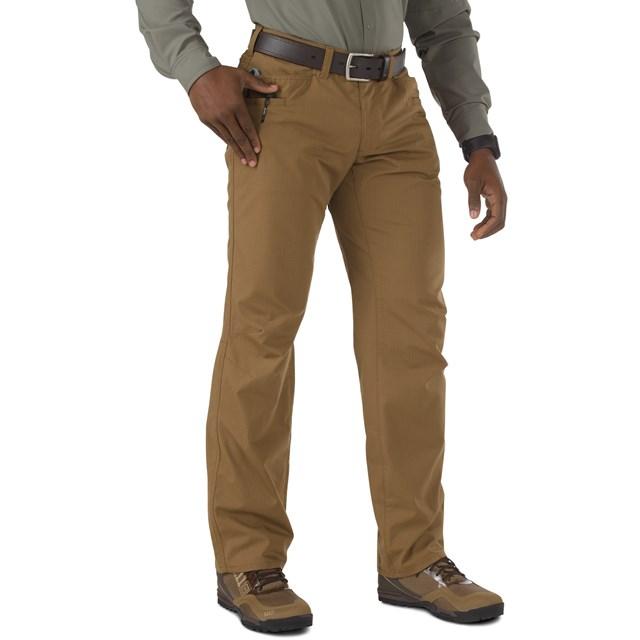 5.11タクティカル リッジライン パンツ カラー:バトルブラウン サイズ:ウエスト34インチ/股下32インチ(74411)