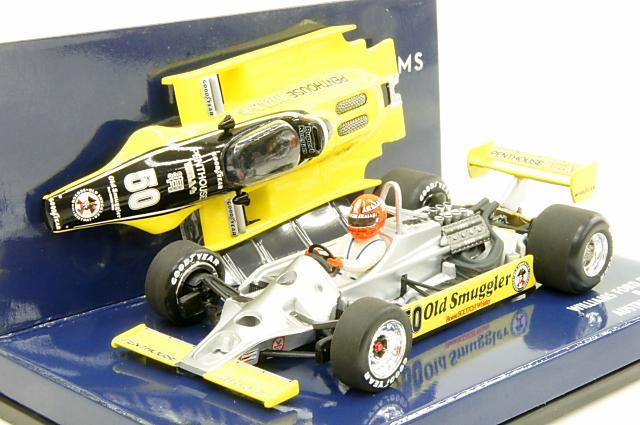 【本物新品保証】 ミニカー ウィリアムズ 1/43 ミニチャンプス ミニカー MINICHAMPS(400800150) ウィリアムズ フォード FW07 オーストリアGP R.Keegan オーストリアGP 1980, ハボロチョウ:7a715ae5 --- canoncity.azurewebsites.net