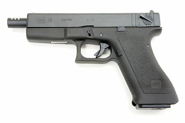 タナカ TANAKA グロック G18 2nd.フレーム エヴォリューション ヘビーウエイト 発火モデルガン()