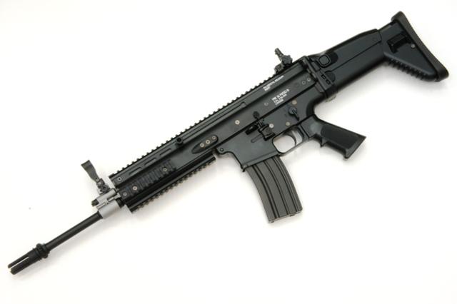 東京マルイ TOKYO MARUI FN SCAR-L Mk16 Mod.0 ブラック 次世代電動ガン()