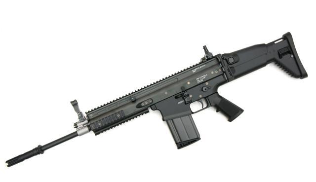 東京マルイ TOKYO MARUI FN SCAR-H Mk17 mod.0 ブラック 次世代電動ガン()