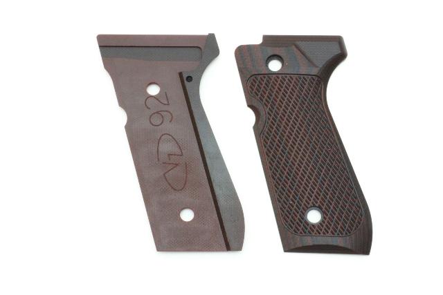 VZ GRIPS (B92-TS-C) ベレッタ 92 ピストルグリップ タクティカルスラント ブラックチェリー G10