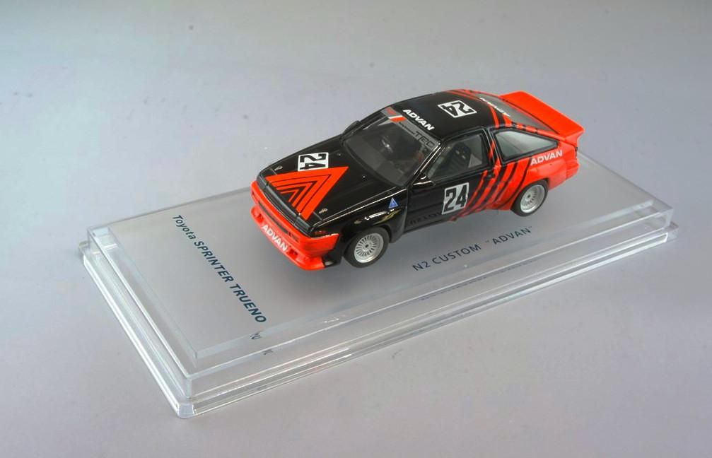 ミニカー 1/43 エニフ ENIF (ENIF0040) トヨタ スプリンタートレノ N2仕様 #24 1986 カスタム