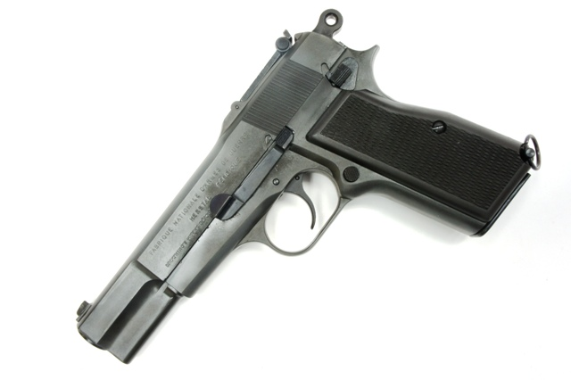 マルシン MARUSHIN FN ブローニングハイパワー ミリタリー ヘビーウエイト 発火モデルガン