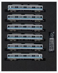 グリーンマックスNゲージ 小田急1000形(ブランドマーク無し・菱形パンタグラフ搭載)6両編成セット(動力付き) 鉄道模型 30570