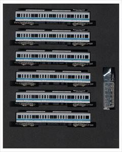 グリーンマックスNゲージ 小田急1000形(ブランドマーク無し・1091編成・菱形パンタグラフ搭載)増結用中間車6両セット(動力無し) 鉄道模型 30573