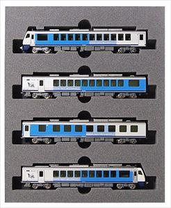 KATONゲージ HB-E300系リゾートしらかみ(青池編成)(4両) 鉄道模型 10-1367