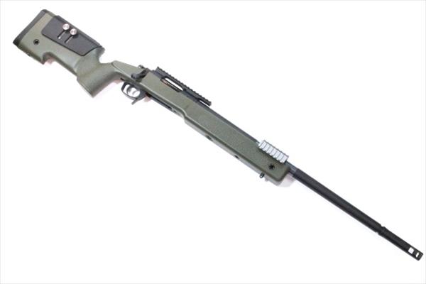 東京マルイ TOKYO MARUI レミントン M40A5 OD ストック ボルトアクションエアライフル