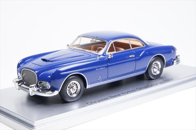 ミニカー ケス (KE43032010) 1/43 クライスラー ニューヨーカー ギア クーペ 1954 ブルー