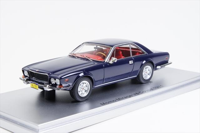 【驚きの値段で】 ミニカー クーペ MOMO ケス (KE43033901) 1/43 ミラージュ クーペ ミラージュ 5.7L V8 MOMO 1971 ブルー, けいとのコーダ:48ba8b05 --- kventurepartners.sakura.ne.jp