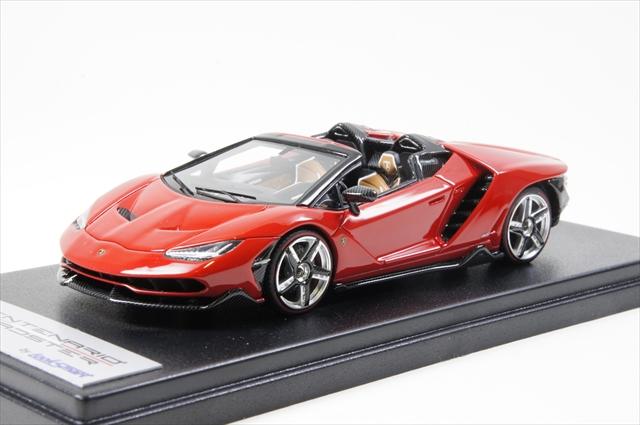 ミニカー 直輸入品 ルックスマート (LS465D) 1/43 ランボルギーニ チェンテナリオ ロードスター rosso Mars レッド