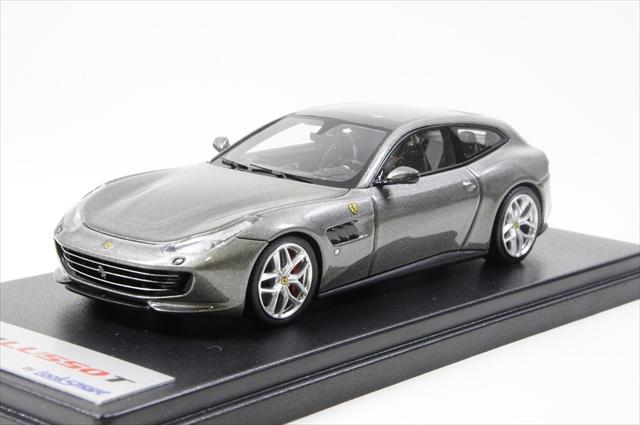 ミニカー 直輸入品 ルックスマート (LS466A) 1/43 フェラーリ GTC4 ルッソ T GRIGIO FERRO MET 790 グレー
