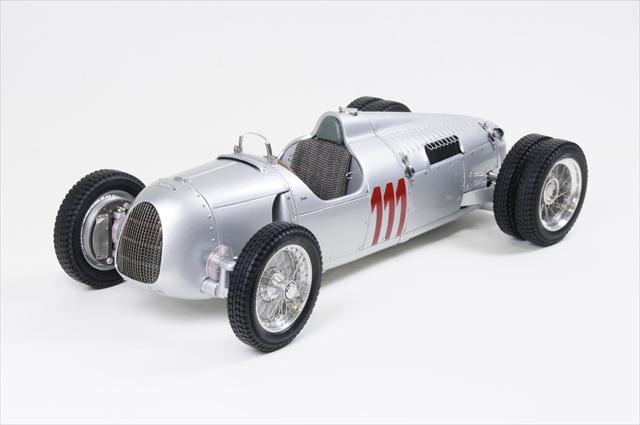ミニカー CMC (M-162) 1/18 アウトユニオン タイプ C ヒルクライム ver. No.111 Schau ins Land, 1937(限定1,500pcs)