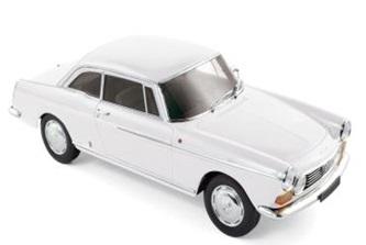 ノレブ1/18 プジョー 404 クーペ 1967 アローザ ホワイト 完成品ミニカー 184831