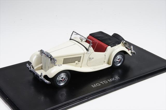 ミニカー ネオ (NEO43802) 1/43 MG TD Mk.2 1950 ホワイト 右ハンドル仕様