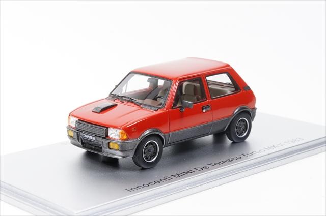 ミニカー ケス (KE43012020) 1/43 イノチェンティ ミニ デトマソ Mk.2 1983 レッド