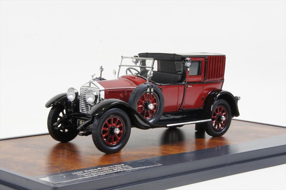 ミニカー マトリックス (MX51705-071) 1/43 ロールス・ロイス 20HP オープン ドライブ ブロアム Brewster No.GAJ15 1927 レッド