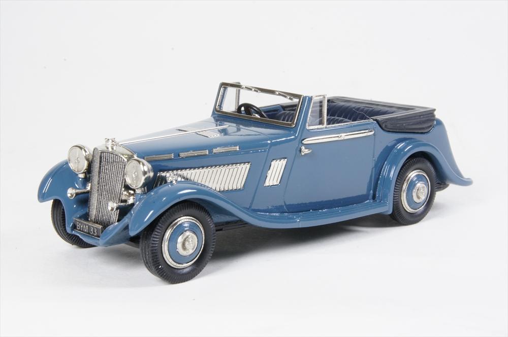 ミニカー ランズダウン (LDM123) 1/43 Brough superior 8 D.H.C. 1935