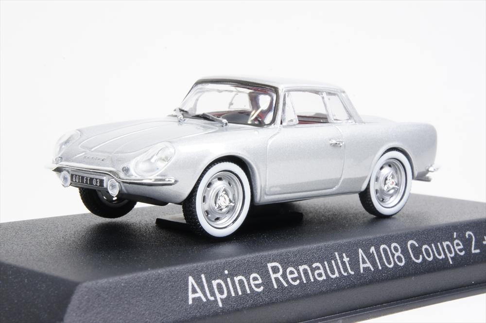 ミニカー ノレブ (517821) 1/43 アルピーヌ A108 クーペ 2 + 2 1961 シルバー