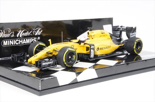 ミニカー ミニチャンプス (417160020) 1/43 ルノー スポーツ F1チーム RS16 2016 K.マグヌッセン