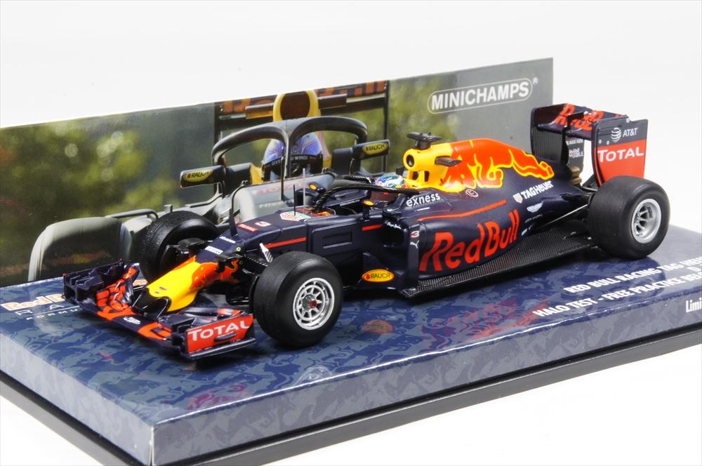 ミニカー ミニチャンプス (417160903) 1/43 レッド ブル レーシング タグホイヤー RB12 ダニエル・リカルド HALOテスト 2016 F1 ベルギーGP