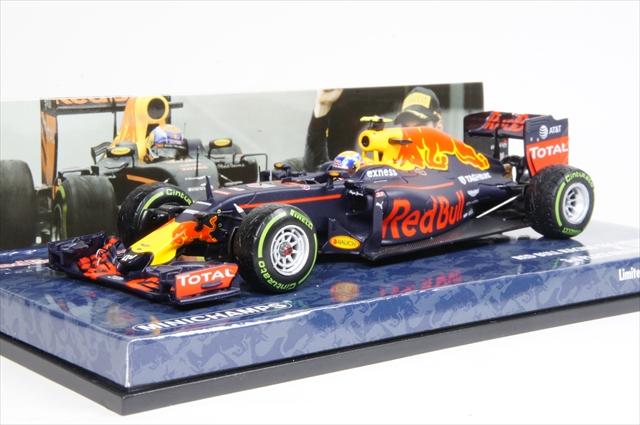 ミニカー ミニチャンプス (417161233) 1/43 レッド ブル レーシング タグホイヤー RB12 F1 ブラジルGP 3位 2016 M.フェルスタッペン