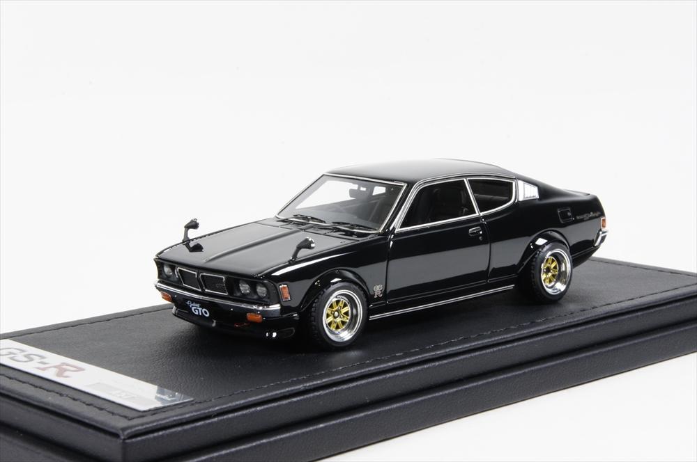 ミニカー イグニッションモデル (IG0642) 1/43 三菱 コルト ギャラン GTO 2000GSR (A57) ブラック