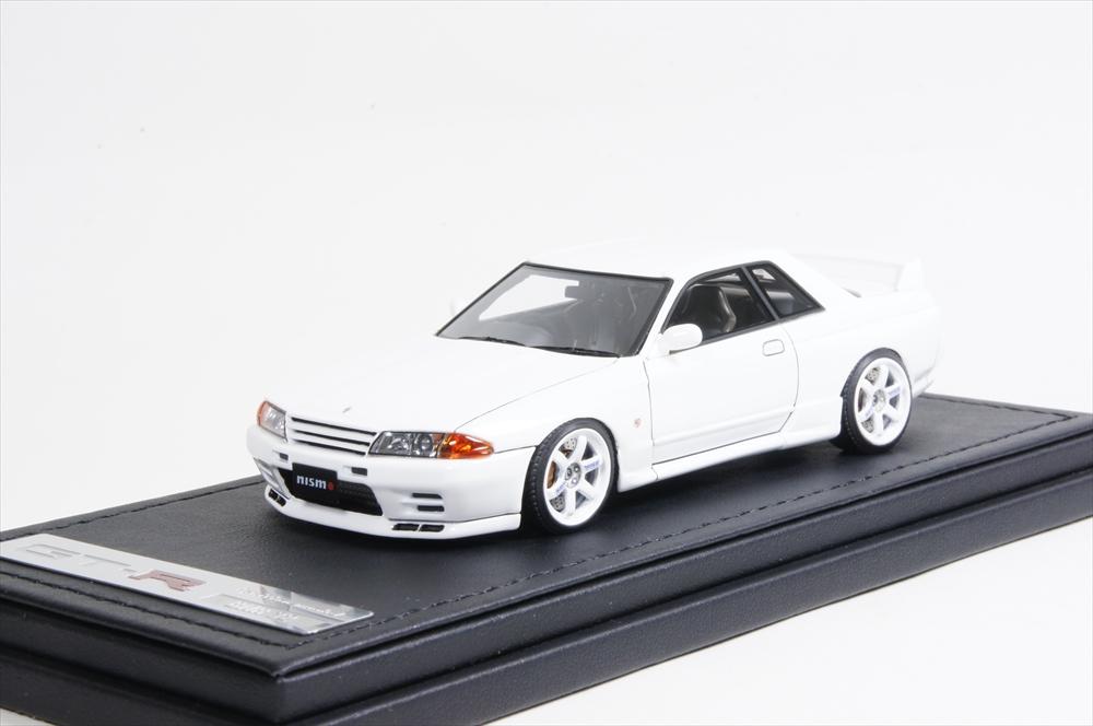 ミニカー イグニッションモデル (IG0921) 1/43 Nismo R32 GT-R S-tune クリスタルホワイト