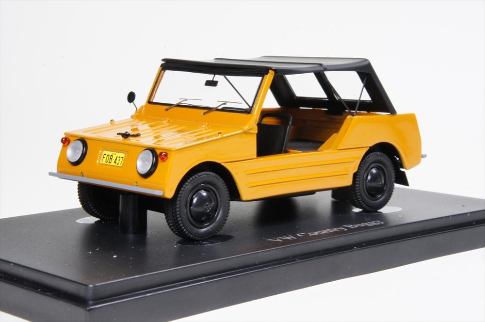 ミニカー オートカルト (05015) 1/43 フォルクスワーゲン Country Buggy オレンジ ブラック