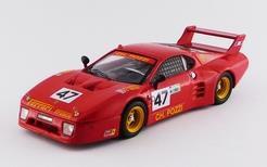 ミニカー ベストモデル (BEST9671) 1/43 1/43 フェラーリ 512BB LM No.47 1981 ル・マン24時間 GTX クラス ウイナー Andruet/Ballot-Lena
