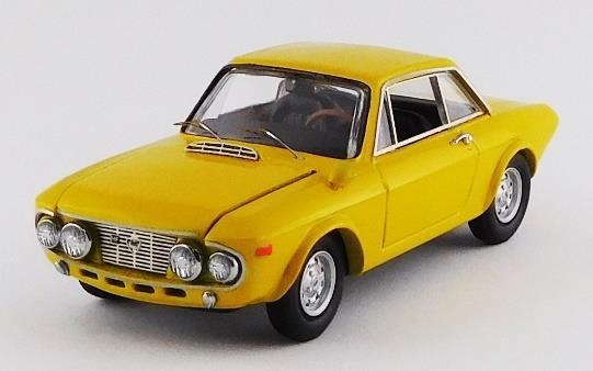 ベストモデル 1/43 ランチア フルビア C 1600 HF ファナローネ 1968 黄