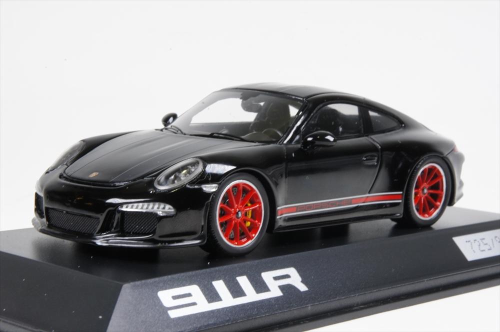 ミニカー ポルシェ特注/スパーク (WAX02020054) 1/43 ポルシェ 911R schwarz/rot