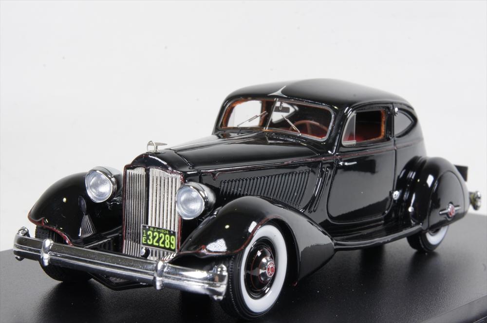 Great Lightning Models 1/43 パッカード トゥエルブモデル 1106 ルバロン エアロ クーペ 1934 ブラック 完成品ミニカー GLM43107203