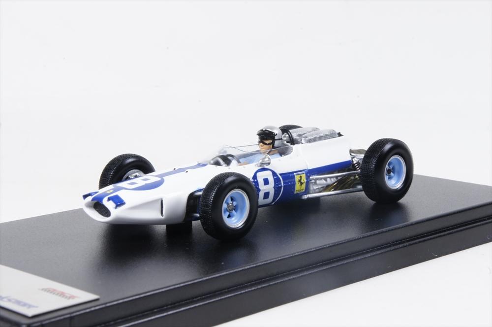 ルックスマート フェラーリ 1512 No.8 3rd 1964 F1 メキシコGP L. Bandini 1/43 完成品ミニカー LSRC10