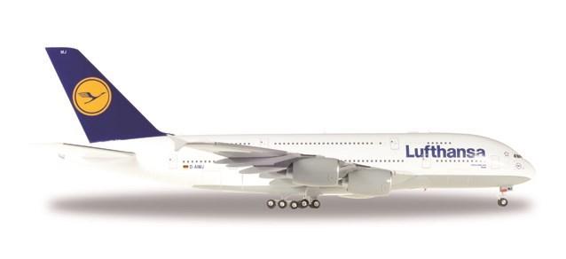 ヘルパウィングス 1/200 A380-800 ルフトハンザ航空 Brussel D-AIMJ 完成品 艦船・飛行機 HE550727-004