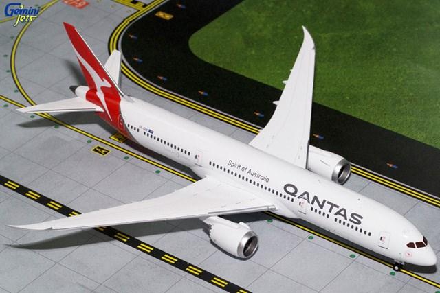 ジェミニ200 1/200 787-9 カンタス航空 n/c VH-QAN 完成品 艦船・飛行機 G2QFA653