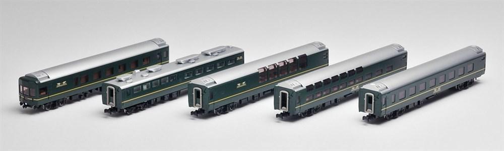トミックス Nゲージ JR 24系25形特急寝台客車(トワイライトエクスプレス) 5両増結セットA 鉄道模型 92460