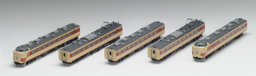 トミックス Nゲージ JR 485系特急電車(Do32編成・復活国鉄色) 5両セット 鉄道模型 92592
