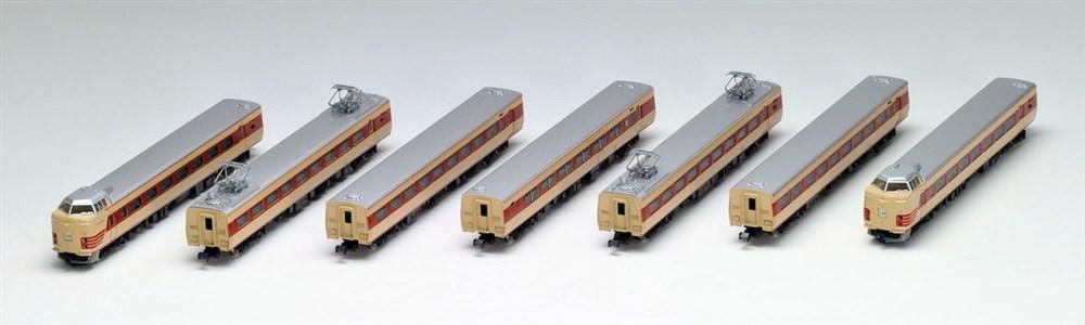 トミックス Nゲージ 国鉄 381-0系特急電車基本セット 鉄道模型 92895
