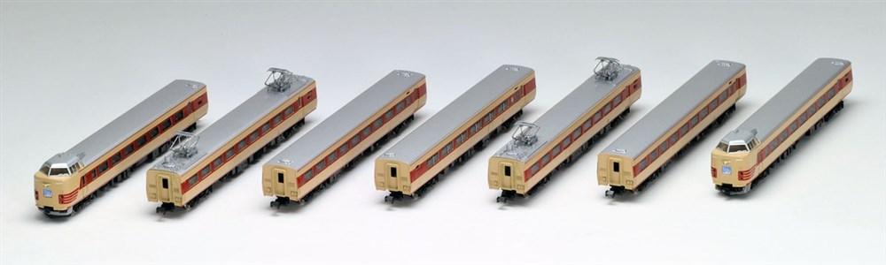 トミックス Nゲージ 国鉄 381-100系特急電車 7両基本セット 鉄道模型 92896
