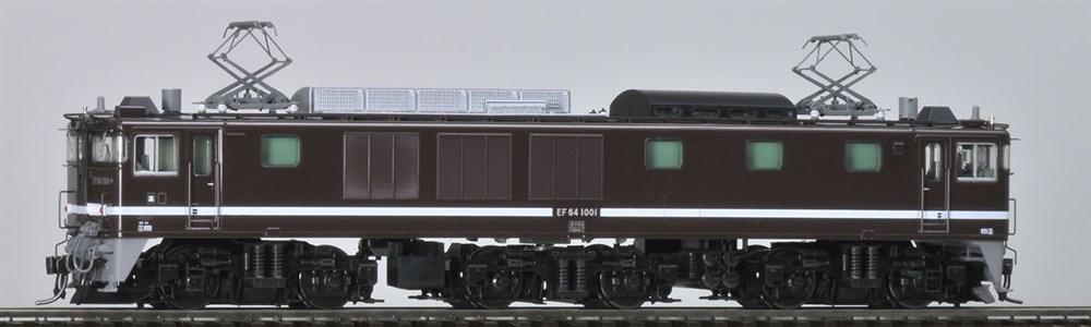 トミックス HOゲージ JR EF64-1000形電気機関車(1001号機・茶色・プレステージモデル) 鉄道模型 HO-171