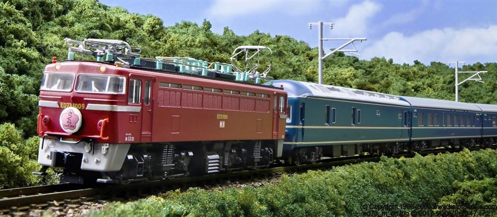 KATO Nゲージ ED73 1000番台 鉄道模型 3012