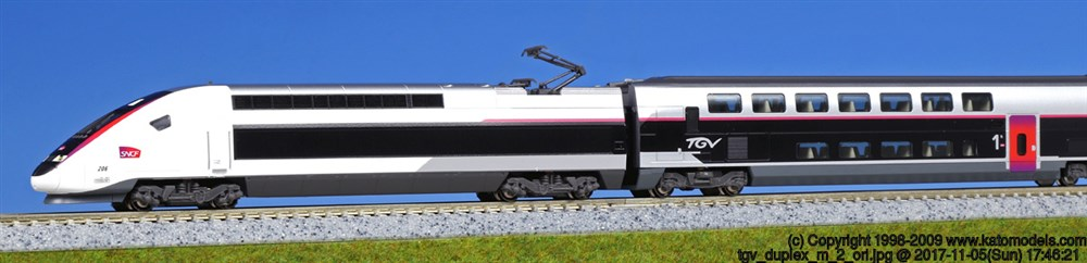 KATO Nゲージ TGV Duplex 10両セット 鉄道模型 10-1324