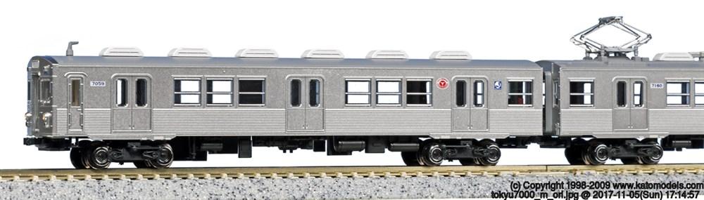 KATONゲージ レジェンドコレクション No.9 東京急行電鉄7000系 8両セット 鉄道模型 10-1305
