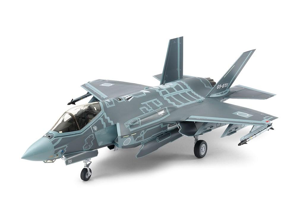 タミヤ 1/32 F-35A ライトニングII (航空自衛隊マーク付き) スケールプラモデル 25414