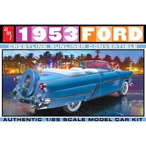 AMT 1/25 1953 フォード クレストライン・サンライナー コンバーチブル スケールプラモデル AMT1026